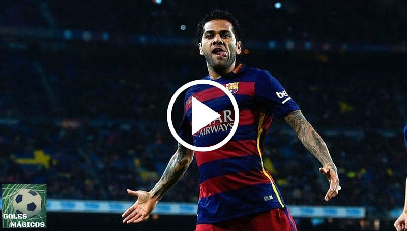 Dani Alves gol Real Madrid