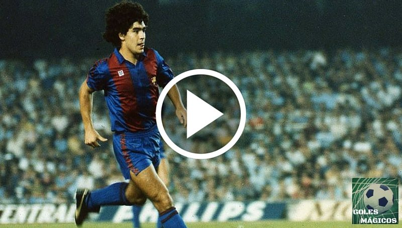 Maradona gol Real Madrid
