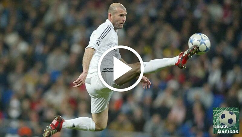 zidane gol racing