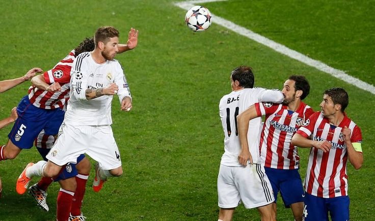 sergio ramos atletico madrid champions league 2014