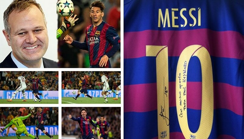 Messi regalo Paul