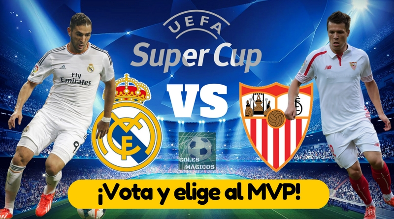 MVP Real Madrid vs Sevilla Supercopa Europa 2016 ver online
