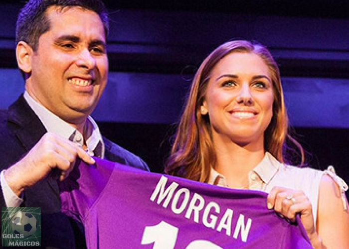 Alex Morgan Orlando