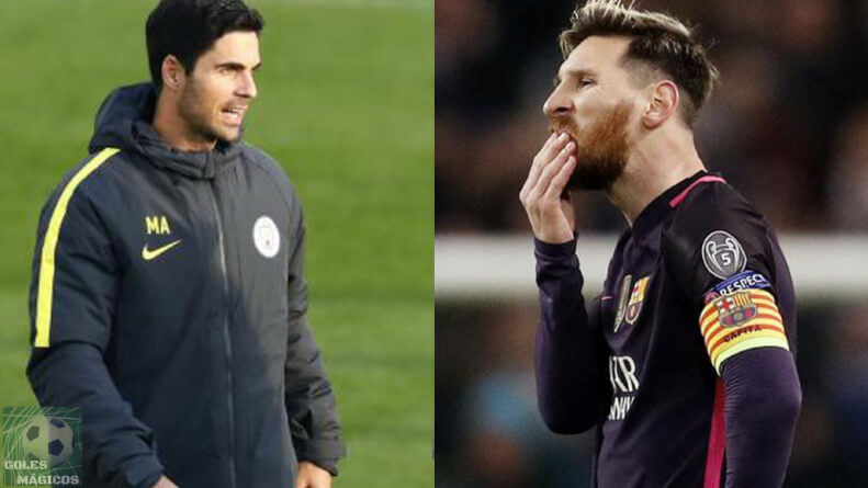 arteta-y-messi