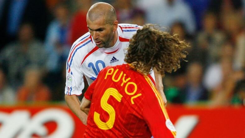 Round of 16 Spain v France - World Cup 2006