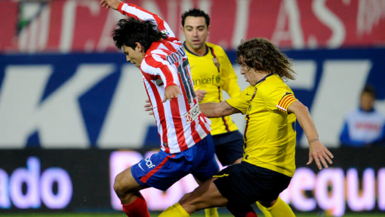 Atletico Madrid's Argentinian forward Se