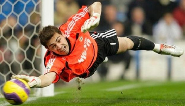 Iker Casillas paradón Real Madrid