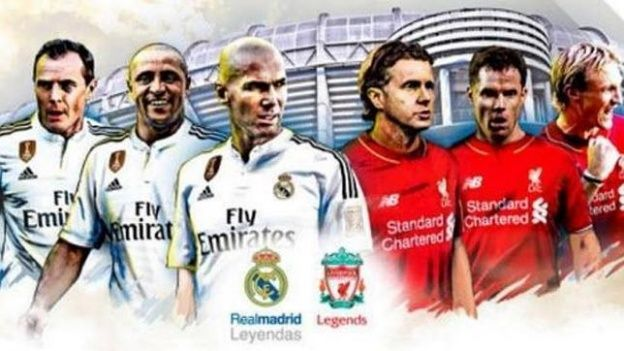 Corazon Classic Match 2015 Real Madrid Liverpool Leyendas