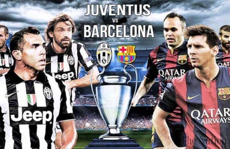 champions league final juventus barcelona goles mágicos