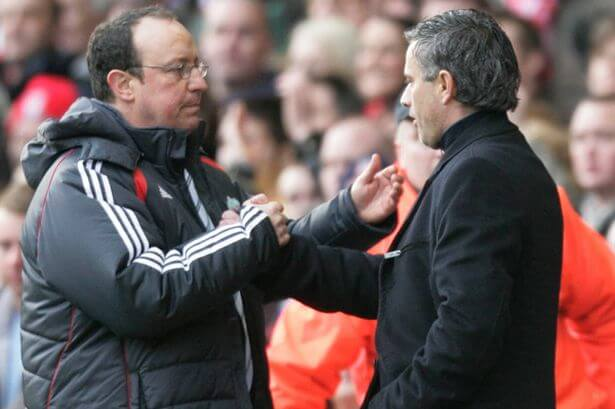 Rafa-Benitez-and-Jose-Mourinho friends