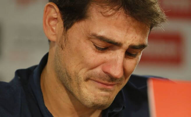 Iker Casillas despedida lágrimas Real Madrid