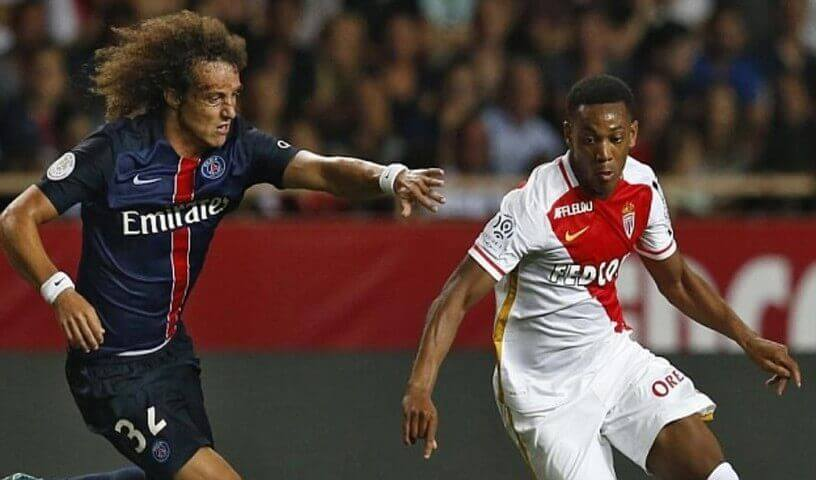 Anthony Martial David Luiz Monaco fichaje Manchester United
