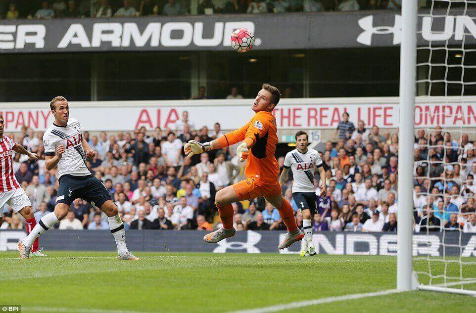 Jack Butland Stoke City save