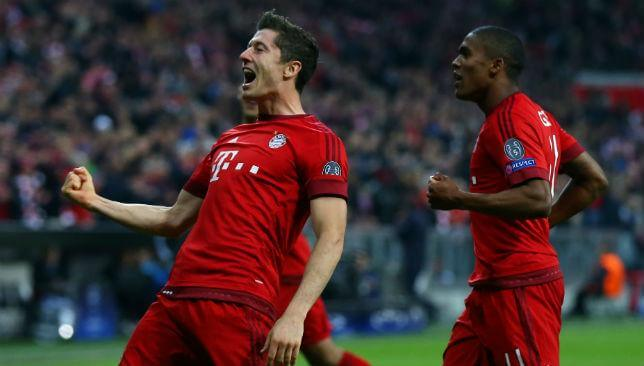Robert Lewandowski hat-trick Bayern Munich