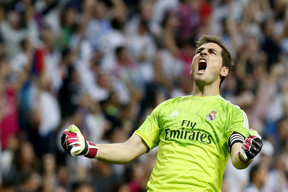Iker Casillas leyenda Real Madrid