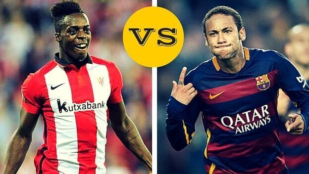 Neymar vs Williams goles sombrero