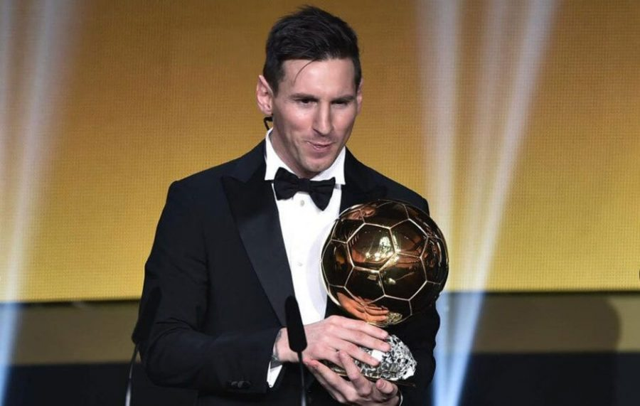 Leo Messi ganador Balon de Oro 2015