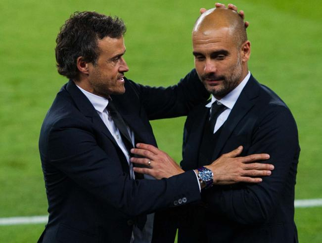 Luis Enrique Pep Guardiola Barcelona