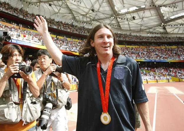 messi campeon olimpico