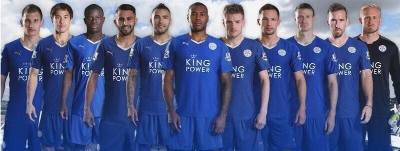 Leicester City once titular 2016